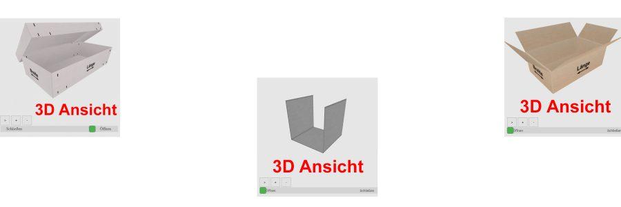 3D Ansichten für Produktkonfiguratoren